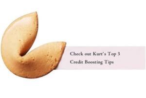 Top 3 Credit Boosting Tips
